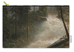 Carry-all Pouch featuring the photograph Nevada Falls Yosemite                                by John Stephens