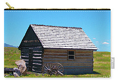 Nevada Log Cabin Carry-all Pouch