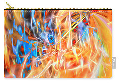 Carry-all Pouch featuring the digital art Never Ending Worship by Margie Chapman