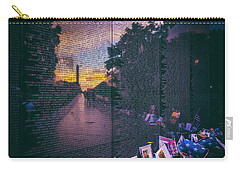 Carry-all Pouch featuring the photograph Never Forget by Edward Kreis
