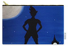 Never Grow Up Carry-all Pouch by Annie Walczyk