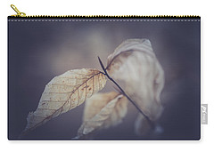 Carry-all Pouch featuring the photograph Never To Fall by Shane Holsclaw