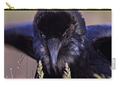 Carry-all Pouch featuring the photograph Nevermore by Todd Kreuter