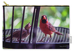 New Baby Cardinal Carry-all Pouch