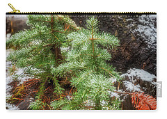 Carry-all Pouch featuring the photograph New Beginnings by Cat Connor