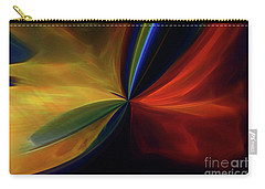 Carry-all Pouch featuring the digital art New Birth by Margie Chapman