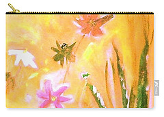 New Daisies Carry-all Pouch