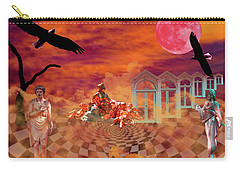 Carry-all Pouch featuring the photograph New Dawn by Ken Frischkorn