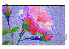 New Dawn Painterly Carry-all Pouch by Susan Lafleur
