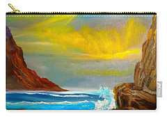 New Day In Paradise Carry-all Pouch