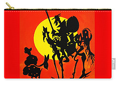 New Don Quixote Carry-all Pouch