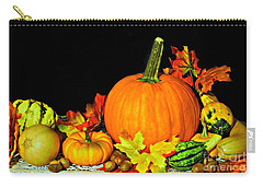 Carry-all Pouch featuring the photograph New England Autumn by Barbara S Nickerson
