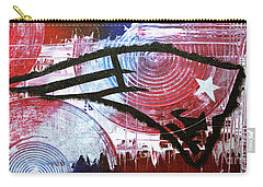 New England Patriots Carry-all Pouch by Melissa Goodrich