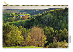 New England Spring Carry-all Pouch by Alan L Graham