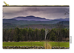 Carry-all Pouch featuring the photograph New England Spring In Oil by Mark Myhaver