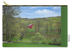 Carry-all Pouch featuring the photograph New England Spring Pasture by Bill Wakeley