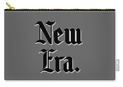 New Era T-shirt Carry-all Pouch by Herb Strobino