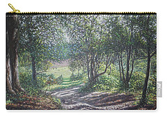 New Forest Path In Summer Evening Carry-all Pouch