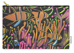 Coral Camouflage Carry-all Pouch