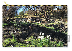 New Growth From Sandra Rosa Fires Carry-all Pouch
