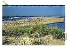 Carry-all Pouch featuring the photograph New Jersey Inlet  by Sally Weigand