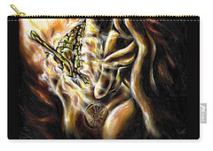 Carry-all Pouch featuring the painting New Journey by Hiroko Sakai