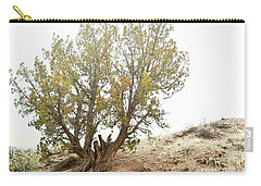 Carry-all Pouch featuring the photograph New Mexico Desert Southwest Tree by Andrea Hazel Ihlefeld