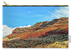 New Mexico Landscape Carry-all Pouch by Gina Savage