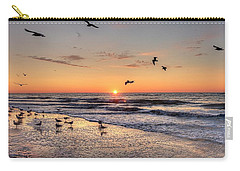 New Moon Birds Carry-all Pouch