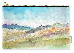 New Morning- Watercolor Art By Linda Woods Carry-all Pouch