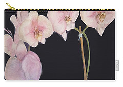 New Orchids Carry-all Pouch by Vickie G Buccini