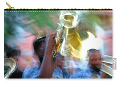 New Orleans Abstract Street Jazz Performance Carry-all Pouch