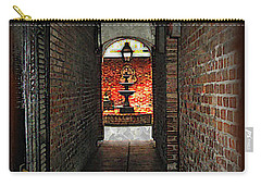 New Orleans Alley Carry-all Pouch by Joan  Minchak
