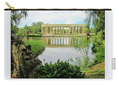 New Orleans City Park Peristyle From Goldfish Island Carry-all Pouch