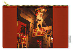 New Orleans Topless Bottomless Sexy Carry-all Pouch