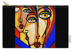 New Picasso By Nora Friends Carry-all Pouch