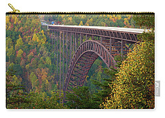 New River Gorge Bridge Carry-all Pouch by Steve Stuller