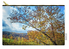 New River In Fall Carry-all Pouch