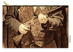 New Sheriff In Town Carry-all Pouch by American West Legend By Olivier Le Queinec