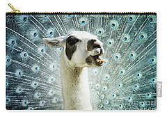 Carry-all Pouch featuring the mixed media New Species by Jutta Maria Pusl
