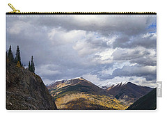 Peeking At The Peaks Carry-all Pouch