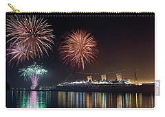 New Years With The Queen Mary Carry-all Pouch