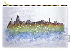 New York After Time Carry-all Pouch by Edwin Alverio