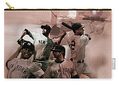 New York Baseball  Carry-all Pouch by Gull G