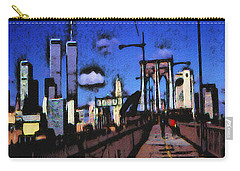New York Blue - Modern Art Carry-all Pouch