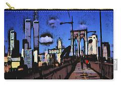 New York Blue - Modern Art Carry-all Pouch
