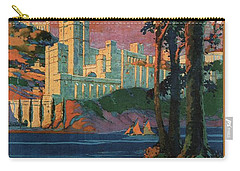 New York Central Lines - West Point - Retro Travel Poster - Vintage Poster Carry-all Pouch