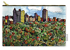 New York Central Park Carry-all Pouch by Terry Banderas
