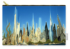 New York City 2100 - Modern Art Carry-all Pouch