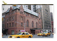 New York City Yellow Cab  - Amsterdam -  West Seventy Sixth Carry-all Pouch